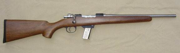 9mm Bolt Action Rifle nowhere to be found but there is an